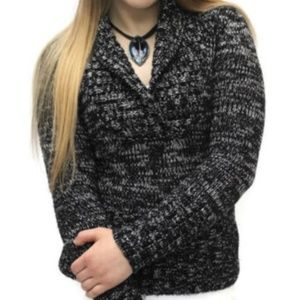 WHBM Long Sleeve Coal Sweater Size X-SMALL